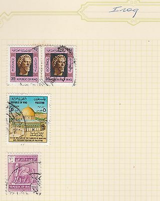 IRAQ COLLECTION on Old Book Pages,as per scan #