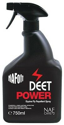NAF OFF DEET POWER SPRAY natural animal feeds horse fly insect repellent
