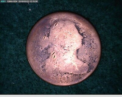 1801 1C Draped Bust Large Cent ( 46-158 ) Filler