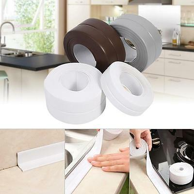 Kitchen Bathroom Wall Sealing Tape Waterproof Mould Proof Adhesive Tape NEW LG