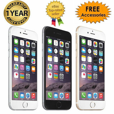 (NEW SEALED BOX) APPLE iPHONE 6 Plus /6 16/64/128GB 4G LTE FACTORY UNLOCKED AU