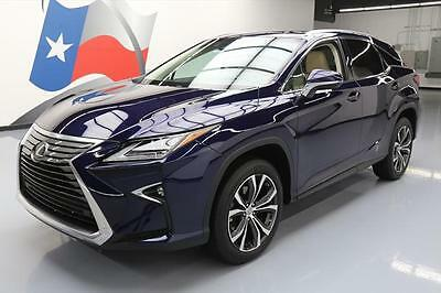 2016 Lexus RX Base Sport Utility 4-Door 2016 LEXUS RX350 LUXURY CLIMATE LEATHER SUNROOF NAV 15K #026771 Texas Direct