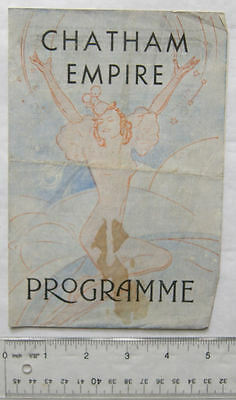 1940s programme Chatham Empire, To See Such Fun