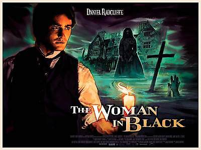THE WOMAN IN BLACK LAMINATED MINI MOVIE POSTER style 3