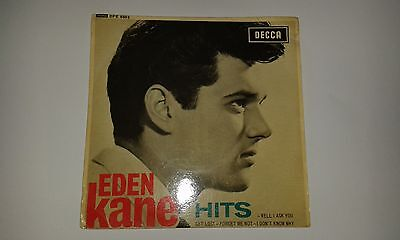 Eden Kane - Hits - Decca P/S EP vinyl 45 RPM - 1962 - Well I Ask You + 3