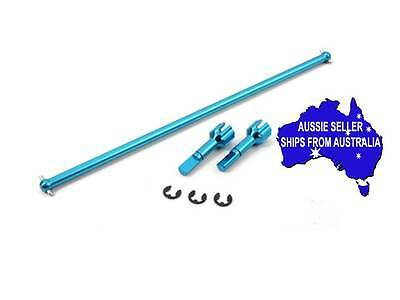 Yeah Racing Blue Alloy mainshaft & joint ends for Tamiya TA01,DF01 TA01-134BU