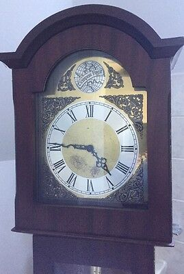 Longcase Grandfather (Palesgaard Clock, Copenhagen) Clock Post 1900