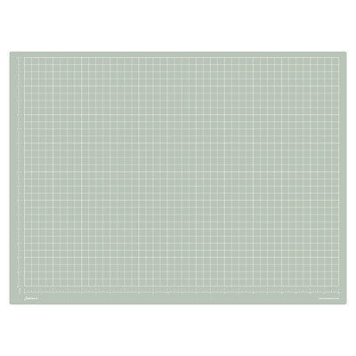Jackson's : A2 Grey Cutting Mat : Double Sided CM & Inch Grid : 45x65cm : 17