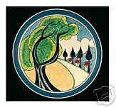 Clarice Cliff Card - MAY AVENUE
