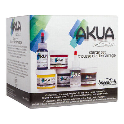 Akua : Printmaking Starter Set : Set of 7