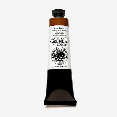 Daniel Smith : Water Soluble Oil Paint : 37ml : Raw Sienna