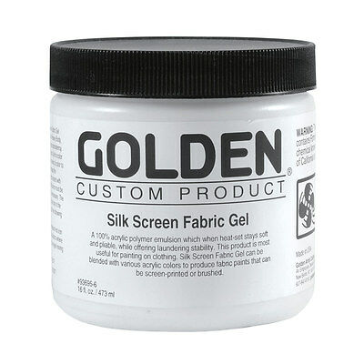 Golden : Silk Screen Fabric Gel 473ml