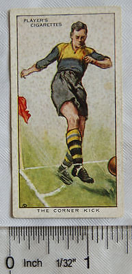 1934 Players Hints on Association Football No. 4 The Corner Kick