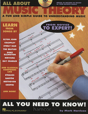 All About Music Theory Simple Guide to Understanding Thory Book & CD