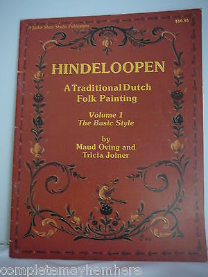 Hindeloopen Vol 1 by Maud Oving & Tricia Joiner - Dutch Folk Painting
