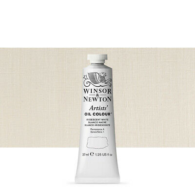 Winsor and Newton : Artists Oil : 37ml tube IRIDESCENT WHITE