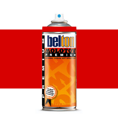 Molotow : Belton Premium Spray Paint : 400ml : Swet 100 Traffic Red 016