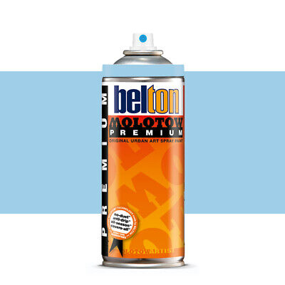 Molotow : Belton Premium Spray Paint : 400ml : Shock Blue Pastel 091