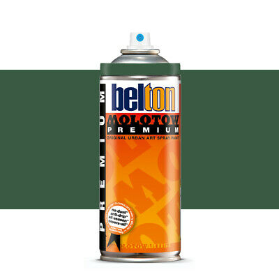 Molotow : Belton Premium Spray Paint : 400ml : Black Forest Green 135 : By Road