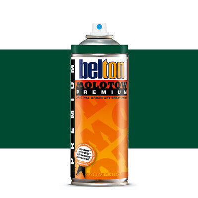 Molotow : Belton Premium Spray Paint : 400ml : Turquoise Green Dark 142
