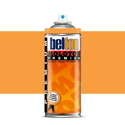 Molotow : Belton Premium Spray Paint : 400ml : Orange Brown Light 199 : By Road