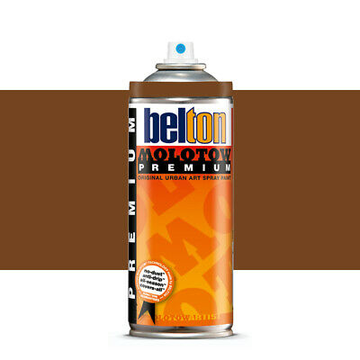 Molotow : Belton Premium Spray Paint : 400ml : Walnut 206 : By Road Parcel Only