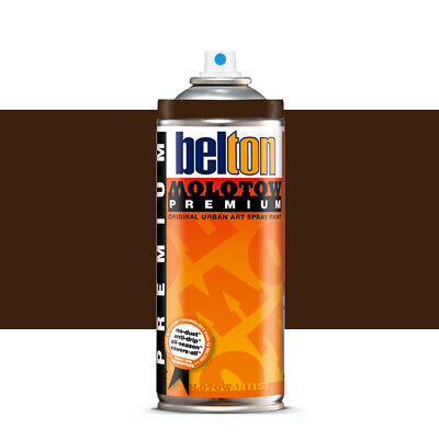 Molotow : Belton Premium Spray Paint : 400ml : Cmp Dark Brown 209 : By Road Parc