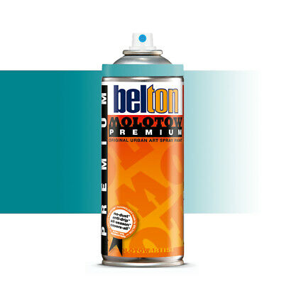 Molotow : Belton Premium Spray Paint : 400ml : Lagoon Blue Transparent 244