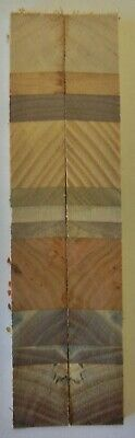 """Laminated Desert Colors (2 pc) Knife Scales 3/16"""" x 3/4"""" x 6"""" - 7750"""
