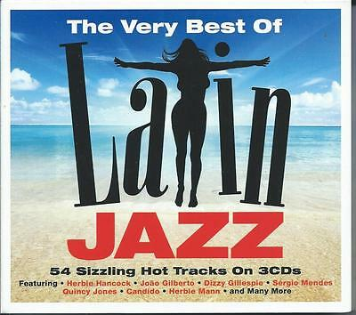 Latin Jazz - The Very Best Of [54 Greatest Hits] 3CD NEW/SEALED