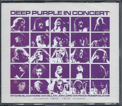Deep Purple - In Concert (Live Recording, 2CD 1992) NEW/SEALED