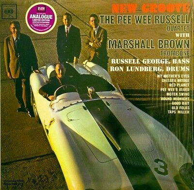 The Pee Wee Russell Quartet - New Groove (180g Analogue Vinyl LP) NEW/SEALED