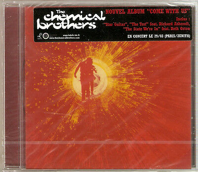The Chemical Brothers - Come With Us (CD 2002) NEW/SEALED