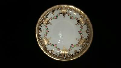 Exquisite Antique KPM Berlin Kognigliche Hand Painted Saucer C 1847+
