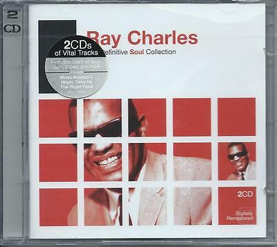 Ray Charles - The Definitive Soul Collection - Greatest Hits (2CD) NEW/SEALED