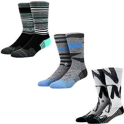 Stance Men's Anatomical Cushioning Athletic Crew Socks Large (9-12)