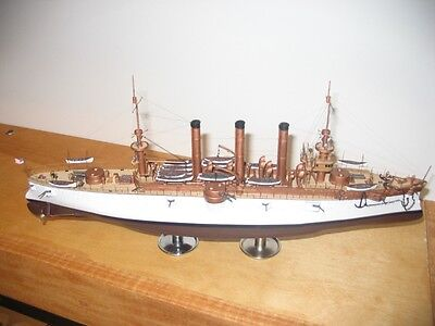 1/350 4128 - USS Brooklyn ACR-3 -Spanish-American War  1898   - Resin Model Kit