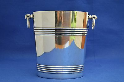 Art Deco Christofle Champagne Bucket  - Ice - Wine Cooler - Silver Plate Vintage