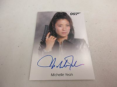 2017 James Bond Archives Final Edition Michelle Yeoh as Wai Lin Autograph