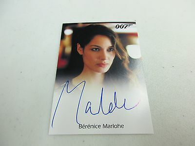 2017 James Bond Archives Final Edition Berenice Marlohe as Severine Autograph