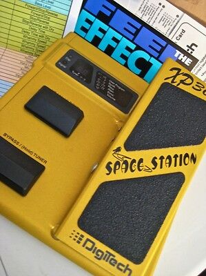 DIGITECH☆XP300☆Classic SPACE STATION Pedal☆EXPRESSION PEDAL☆BOXED & MANUAL