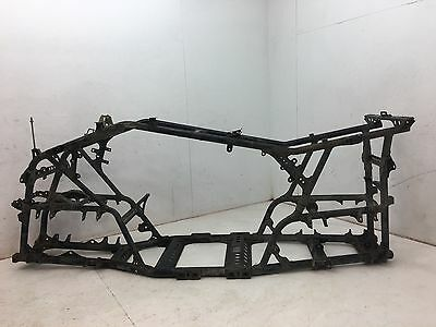 08 Yamaha Grizzly 700 4X4 Yfm700 4X4 Frame Chassis W/ Bos E
