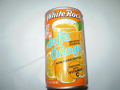 White Rock Jaffa Orange Soda Can Empty 12 Fl.oz. Used