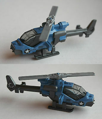 Matchbox - Mission Helicopter blau/grau