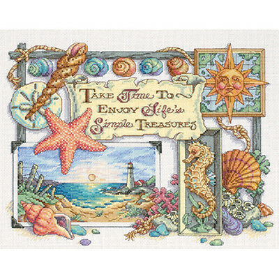 Dimensions Simple Treasures Cross Stitch Kit