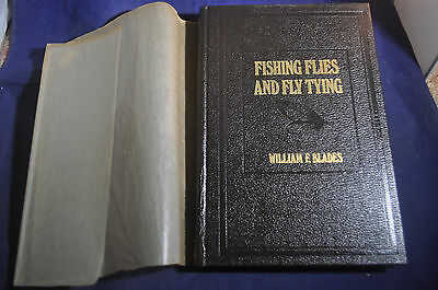 Fishing Flies and Fly Tying, Insects Nymphs Crustaceans by William F. Blades