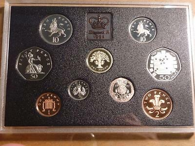 Great Britain 1992 Proof Set No Box or COA, Nice Coins...SKU#11731