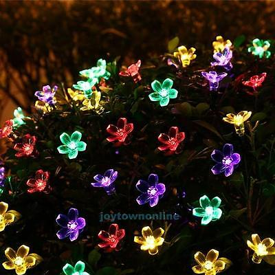 50LEDs Outdoor Solar Powered Waterproof String Fairy Lights Home Garden Decor