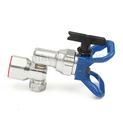 Clean Shot Shut Off Valve Spray Gun With 211 Tips & Guard Base 287030