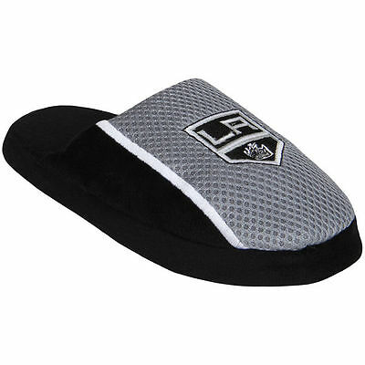 88239ee2 Pair of LA Kings Jersey Slide Slippers - NHL Team Color House shoes JRS16  Style